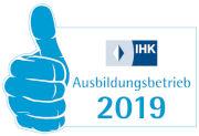 IHK Ausbildungsbetrieb 2019
