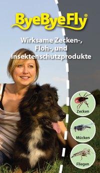 ByeByeFly - Zecken, Flöhe und Insekten wirksam bekämpfen