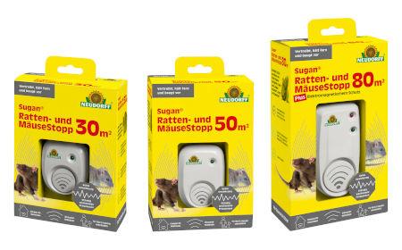 Neudorff Sugan Ratten- und Mäuse Stopp - Neu im Sortiment