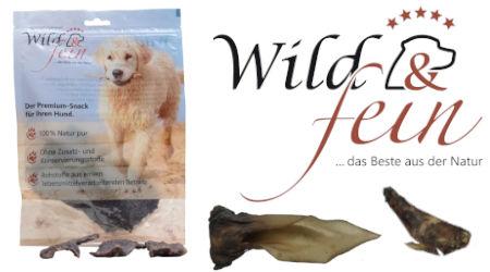 Wild & Fein Premium Hundesnack - Neu im Sortiment